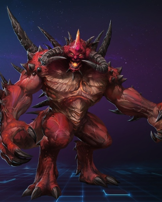 Heroes of the Storm Battle Video Game - Obrázkek zdarma pro 768x1280