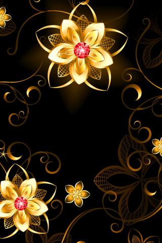 Golden Flowers para Huawei G7300