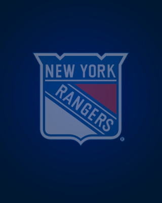 Free New York Rangers Picture for Nokia Asha 308