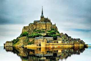 Free Normandy, Mont Saint Michel Picture for Android, iPhone and iPad