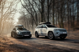 Jeep VS Mercedes Picture for Samsung Galaxy Ace 3