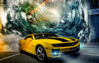 Bumblebee Background for Android, iPhone and iPad