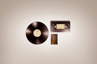 Video cassette and Audio Cassette Wallpaper for Android, iPhone and iPad
