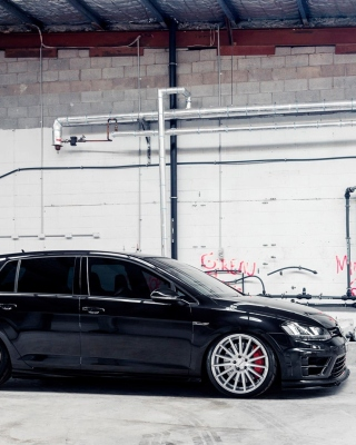Volkswagen Golf R 2 0T Vossen Wheels Picture for Nokia 5800 XpressMusic