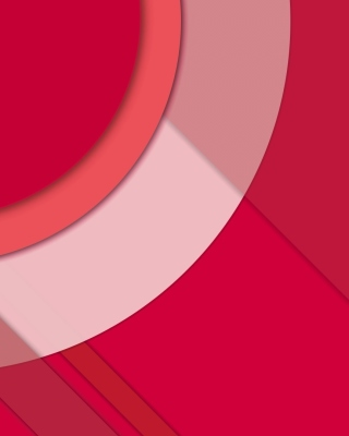Vector 3d Pink Curved Paper Wallpaper for 240x320