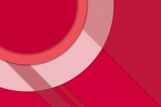 Vector 3d Pink Curved Paper Wallpaper for Android, iPhone and iPad