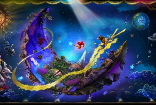 Puppeteer Ps3 Game Background for Android, iPhone and iPad