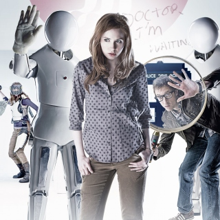 Doctor who, Karen Gillan sfondi gratuiti per iPad mini