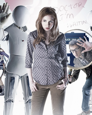 Doctor who, Karen Gillan Background for Nokia Asha 300