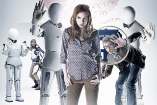 Doctor who, Karen Gillan Background for 480x320