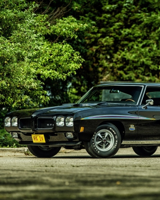 1970 Pontiac GTO Wallpaper for iPhone 5