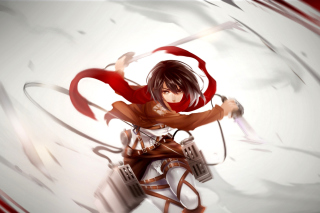 Attack on Titan, Mikasa Ackerman sfondi gratuiti per cellulari Android, iPhone, iPad e desktop
