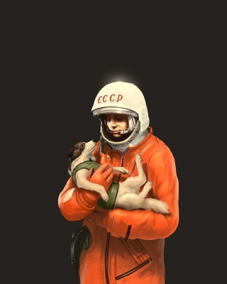 Yuri Gagarin Wallpaper for iPhone 5