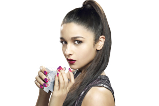 Kostenloses Alia Bhatt Photo Bollywood Actress Wallpaper für Samsung Galaxy S 4G