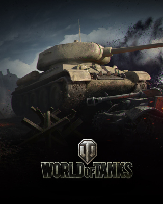 World of tanks T34 85 sfondi gratuiti per Samsung S5230W Star WiFi