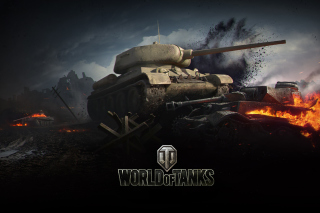 Kostenloses World of tanks T34 85 Wallpaper für HTC Wildfire