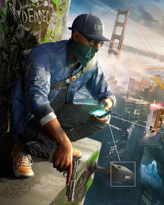 Free Watch Dogs 2 Picture for Nokia Lumia 820