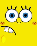 Screenshot №1 pro téma Yellow Spongebob 128x160