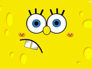 Screenshot №1 pro téma Yellow Spongebob 320x240