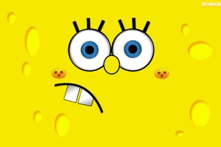 Yellow Spongebob Wallpaper for 960x800