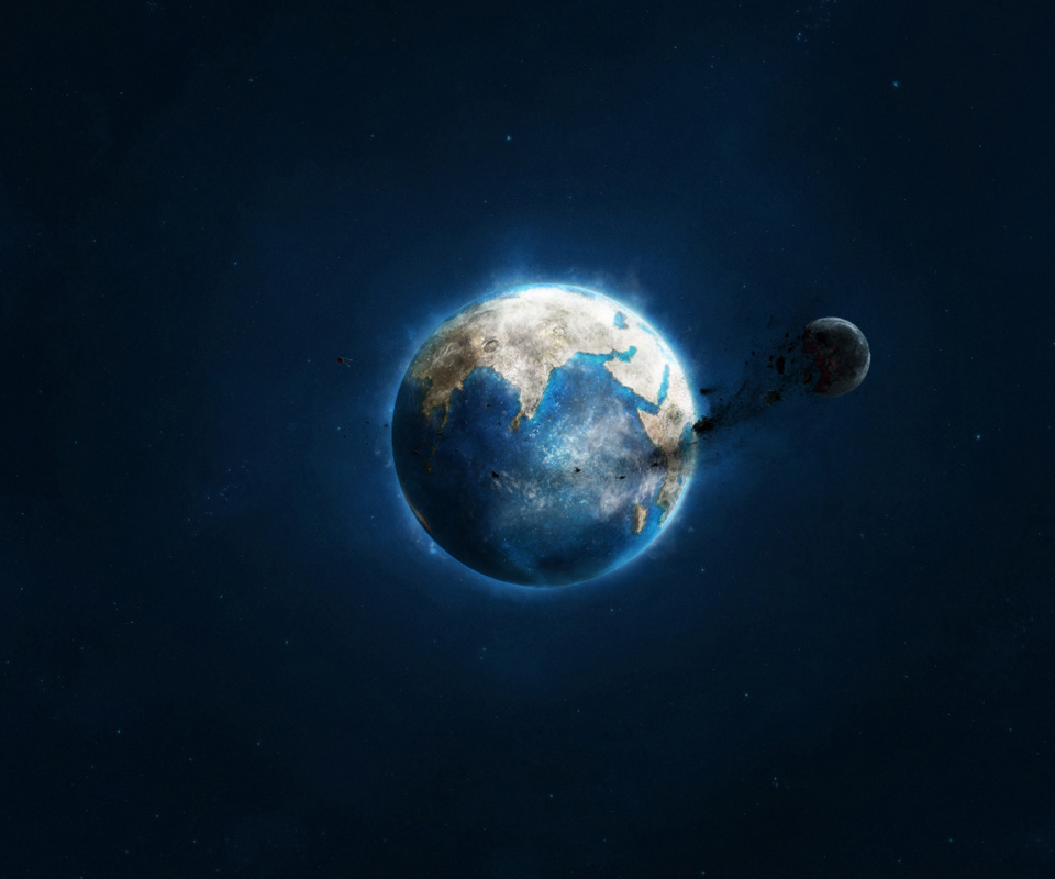 Screenshot №1 pro téma Planet and Asteroid 960x800