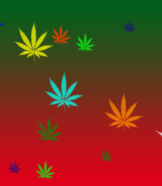 Weed Colours Wallpaper for Nokia X3