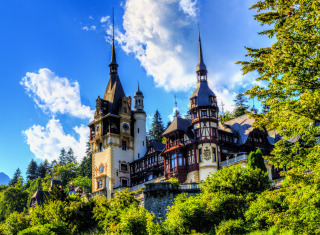 Peles Castle In Romania sfondi gratuiti per cellulari Android, iPhone, iPad e desktop