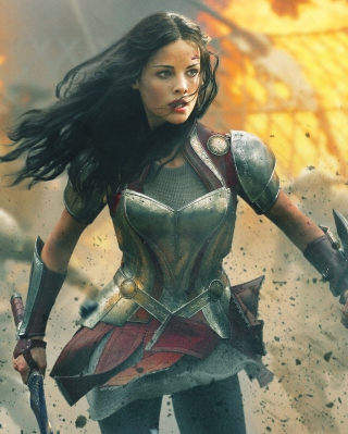 Jaimie Alexander In Thor 2 Wallpaper for 480x640