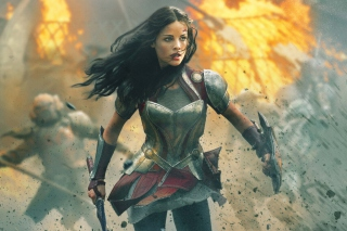 Jaimie Alexander In Thor 2 Wallpaper for Android, iPhone and iPad