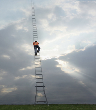 Ladder To Heaven Wallpaper for Nokia C1-01