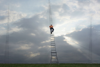 Ladder To Heaven Wallpaper for Android, iPhone and iPad