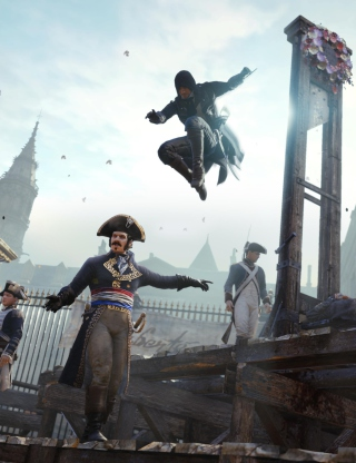 Assassin's Creed Unity sfondi gratuiti per 480x800