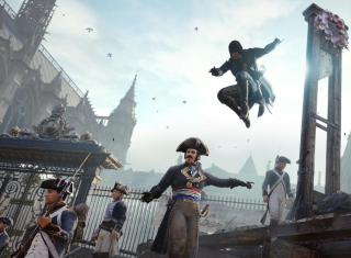 Assassin's Creed Unity - Obrázkek zdarma pro Widescreen Desktop PC 1920x1080 Full HD