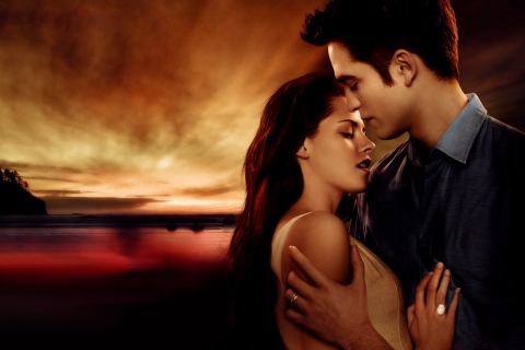Screenshot №1 pro téma Twilight Love Triangle 480x320