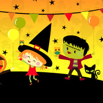 Screenshot №1 pro téma Halloween Trick or treating Party 208x208