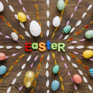 Easter congratulation Background for 208x208