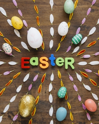 Easter congratulation Wallpaper for Nokia C5-06