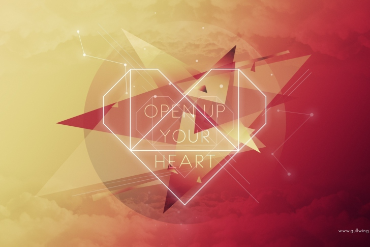 Open Up Your Heart wallpaper