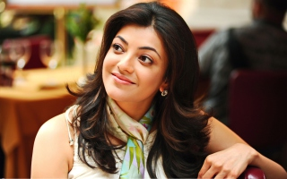 Kajal Agarwal 2013 Wallpaper for Samsung Galaxy Tab 3 10.1