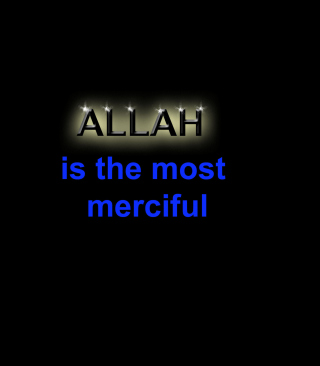 Allah Is The Most Merciful - Fondos de pantalla gratis para 128x160