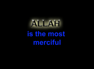 Free Allah Is The Most Merciful Picture for Android, iPhone and iPad