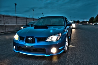 Subaru WRX STI Background for Android, iPhone and iPad