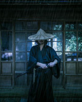 Samurai Japanese Warrior Picture for 360x640