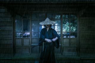 Free Samurai Japanese Warrior Picture for Sony Xperia Z