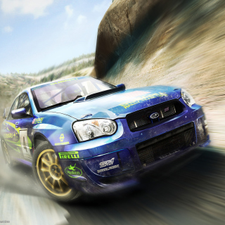 Colin Mcrae Rally Wallpaper for iPad 2