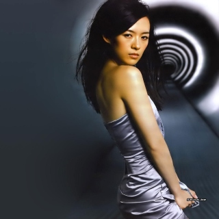 Zhang Ziyi Chinese actress Wallpaper for iPad mini
