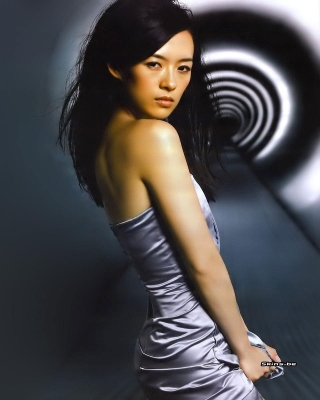 Zhang Ziyi Chinese actress Picture for Nokia Asha 306