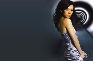 Zhang Ziyi Chinese actress Background for Android 480x800