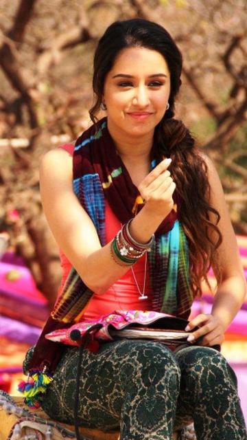 Shraddha Kapoor para Nokia 5230