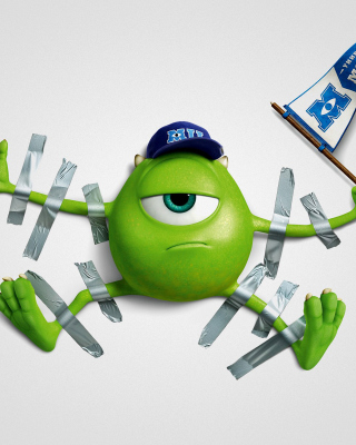 Monsters University, Mike Wazowski, Green Monster - Obrázkek zdarma pro Nokia Asha 309